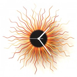 Medusa Wall Clock – designer wooden clock