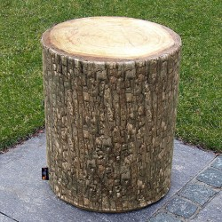 Forest Outdoor Tree Seat - tree trunk stool - MeroWings