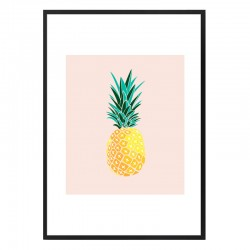 Finapple Framed Print - tropical fruit art print - 83 Oranges
