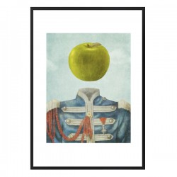 Sgt. Apple Framed Print - The Beatles Sgt Pepper modern art print
