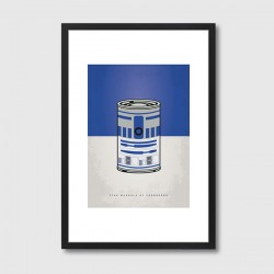 My Star Warhols R2D2 Framed Print - Star Wars pop art print