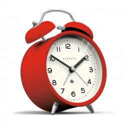 Newgate Charlie Bell Echo Alarm Clock (Red) - Red Candy