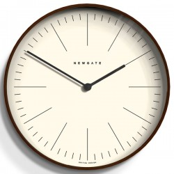 Newgate Mr Clarke Wooden Wall Clock (Large) - Red Candy