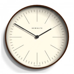 Newgate Mr Clarke Wooden Wall Clock (Small) - Red Candy