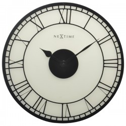 Nextime Big Ben Wall Clock - large frosted glass wall clock