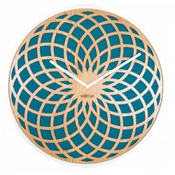 Nextime Sun Clock (Turquoise) - Red Candy