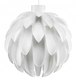 Norm 12 Lamp Shade - large white designer pendant lights