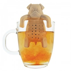 Pug in a Mug Tea Infuser - Red Candy
