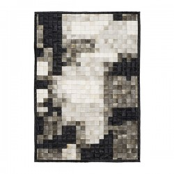 Mr Grey Rug – designer cow hide rug