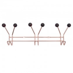Jupiter Coat Rack - Copper - Present Time atomic copper hat rack