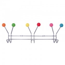 Jupiter Coat Rack (Multi Colour) - Red Candy