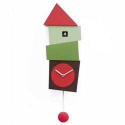 Progetti Crooked Cuckoo Clock (Green) - Red Candy