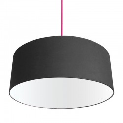 XL Drum Lampshade (Black) - Red Candy
