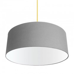 XL Drum Lampshade (Grey) - Red Candy