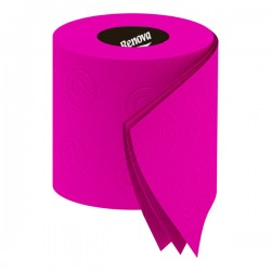 Renova Fuchsia Toilet Paper - Red Candy
