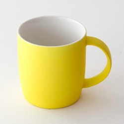 Neon Mug (Yellow) - Red Candy