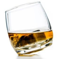 Rocking Whiskey Glasses - Sagaform glassware - pack of 6