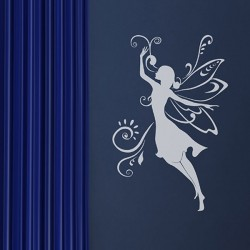 Fairy Wall Sticker - Red Candy