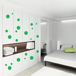 Spots Wall Sticker Set - spotty wall decor