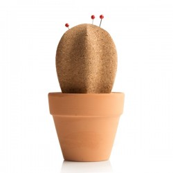 Suck UK Cork Cactus Memo Holder - Red Candy