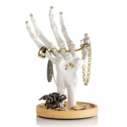 Suck UK Skeleton Hand Jewellery Tidy - Red Candy