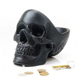 Suck UK Skull Tidy (Black) - Red Candy