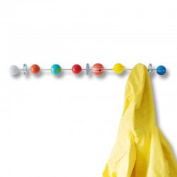 Solar System Coat Hook - Red Candy