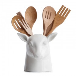 Stag Kitchen Tidy - deer utensil pot - storage pot - Suck UK