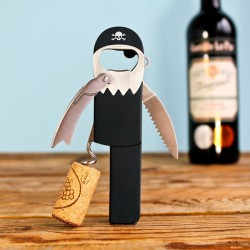 Suck UK Legless Corkscrew - pirate bottle opener