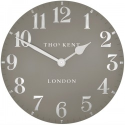 Thomas Kent Arabic Clock Cool Mink - 20 inch - large wall clock
