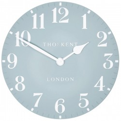 Thomas Kent Arabic Clock - (20 inch, Stonewash Blue) - Red Candy