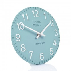 Thomas Kent Cotswold teal Mantel Clock (6 Inch) - Red Candy