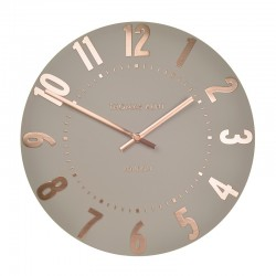 Thomas Kent Mulberry Clock Rose Gold - 12 Inch - designer clock