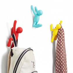 Umbra Buddy Hooks in Assorted Colours - colourful quirky hooks