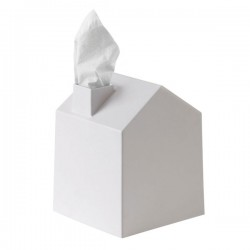 Umbra Casa Tissue Box Cover - White - house shaped tissue dispenser