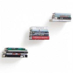 Umbra Conceal Bookshelf - Set of 3 - floating book shelves