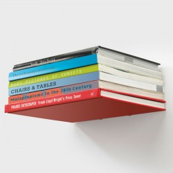 Umbra Conceal Bookshelf - invisible book shelf - large