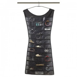 Umbra Little Black Dress Organiser - hanging accessory storage