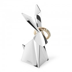 Umbra Origami Ring Holder (Rabbit) - Red Candy