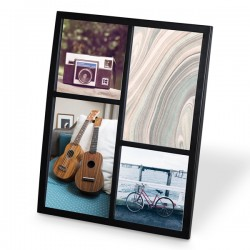 Umbra Senza Multi Photo Display - Black - metal multi frame