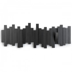 Umbra Sticks Coat Rack - Black - creative coat hooks