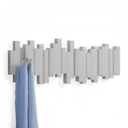 Umbra Sticks Coat Rack - Grey - designer coat rack