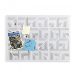 Umbra Trigon Bulletin Board - White - designer pin board