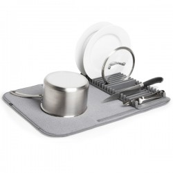 Umbra Udry Drying Mat and Rack - multi-purpose dish rack