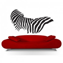 Zebra Print Wall Sticker - animal wall sticker