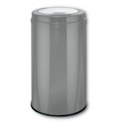 Wesco Big Swing Bin - large capacity graphite rubbish bin