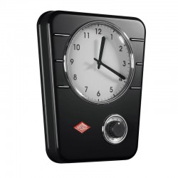 Wesco Classic Line Kitchen Clock - Black - kitchen timer clock