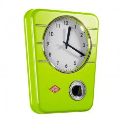 Wesco Classic Line Kitchen Clock (Lime Green) - Red Candy