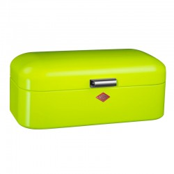 Wesco Grandy Bread Bin - lime green designer bread bin