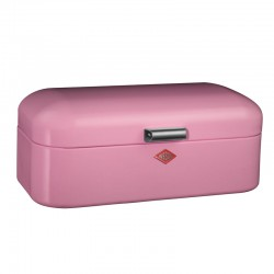 Wesco Grandy Bread Bin – pink kitchen bread bin